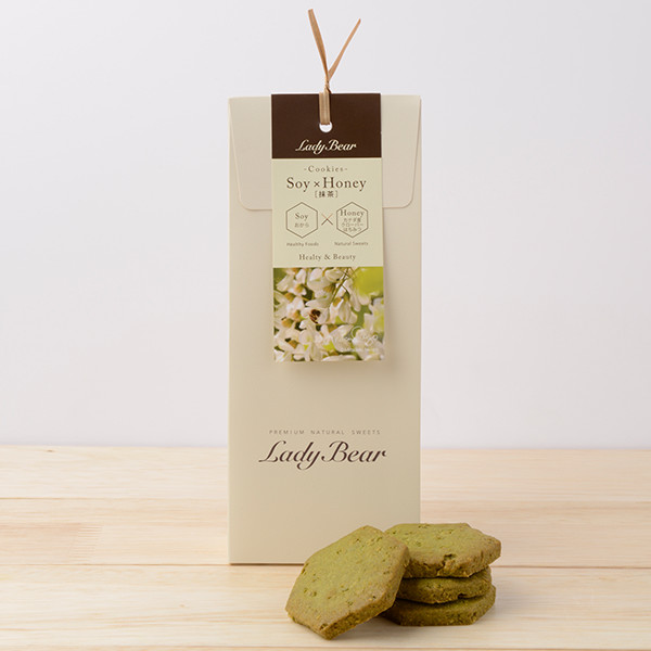 レディーベアクッキー(抹茶)
