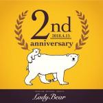 Lady Bear2周年