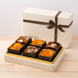 シフォンキューブ(ショコラ&オレンジ)6個入